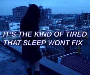 tired, sad, and grunge image