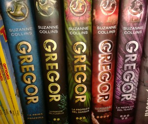 books, gregor, and suzanne collins image