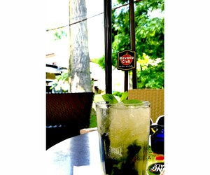 coctail, drink, and mojito image