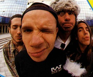 red hot chili peppers and rock image