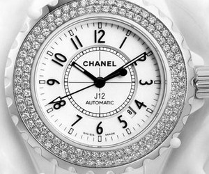 chanel, watch, and white image