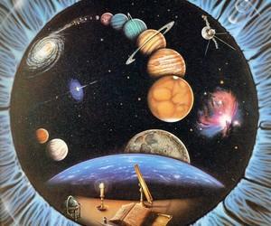 eye and planets image