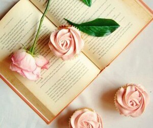 rose and books image