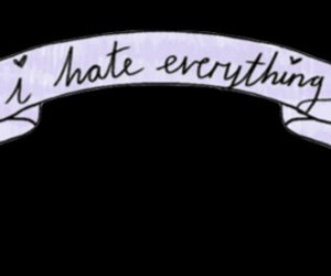hate, overlay, and everything image
