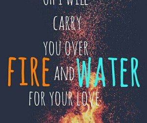 fire, water, and one direction image