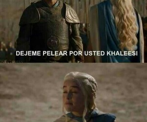 lol, game of thrones, and khalessi image