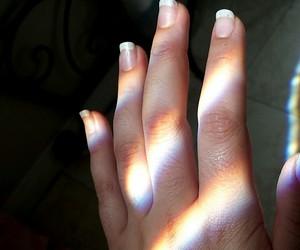 rainbow and nails rainbow image