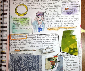 watercolor, writing, and nancy standlee image