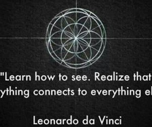quotes, Leonardo da Vinci, and see image