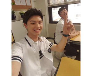 asian, model, and yook sungjae image