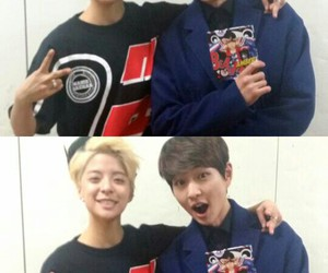 Onew, SHINee, and f(x) image