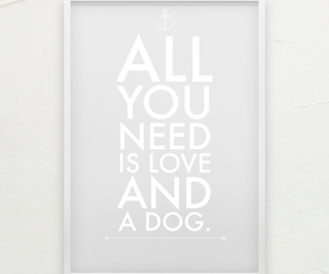 dog, quote, and love image