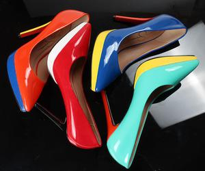 heels, shoespie reviews, and candy color image