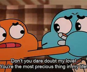 love, gumball, and cartoon image