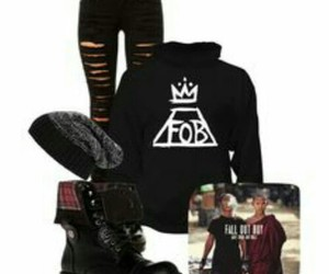 fall out boy and outfit image