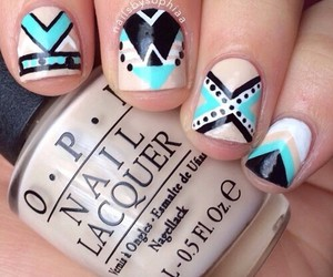 girl, hipster, and nails image