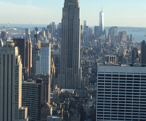 city, day, and manhattan image