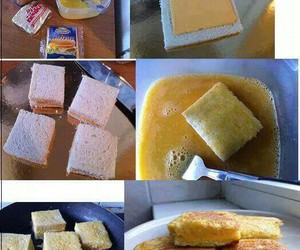 cheese, diy, and delicious image