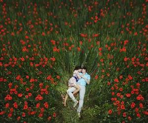 boy, field, and GRL image