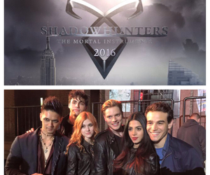 the mortal instruments, abc family, and shadowhunters image