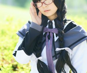 homura akemi cosplay, pmmm cosplay, and anime expo cosplay image