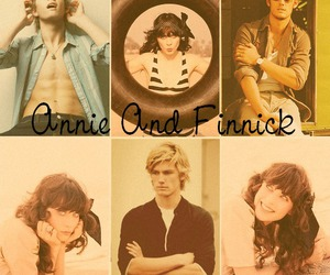 alex pettyfer, annie, and the hunger games image