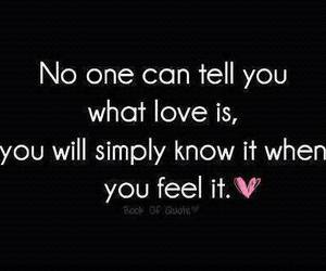feel, someone, and love image