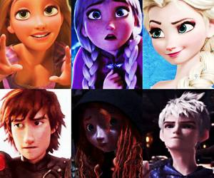 frozen and the super six image