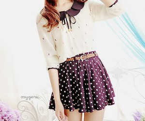 outfit, skirt, and cute image