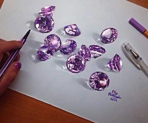 3d, amazing, and purple image