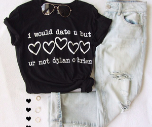 black, jeans, and clothes image