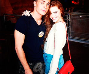 colton haynes, teen wolf, and holland roden image