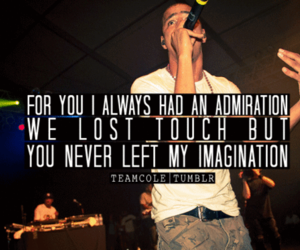 Lyrics, quote, and rapper image