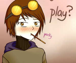 pocky, creepypasta, and ticci toby image
