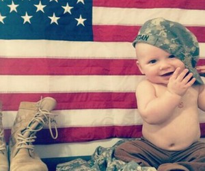 army, baby, and military image