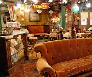 new york, friends, and central perk image