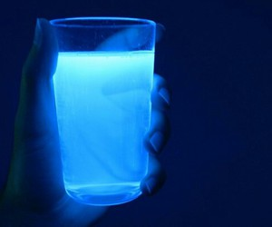 blue, neon, and glow image