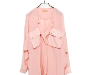 blouse, modern, and pink image