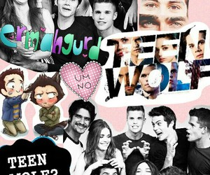 Collage, teen wolf, and lydia martin image
