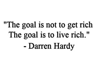 goals, rich, and live image