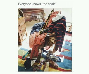 chair and funny image