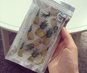 case, iphone, and pineapple image