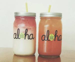 drink, Aloha, and lemonade image