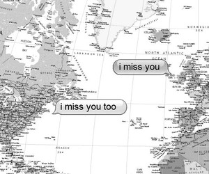 love, distance, and miss image
