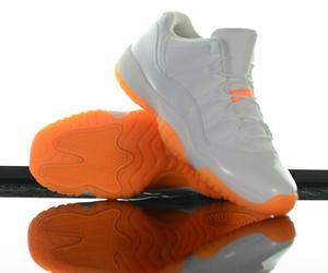 orange, shoe, and white image