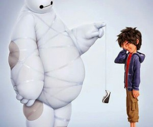 *-*, forever, and baymax image
