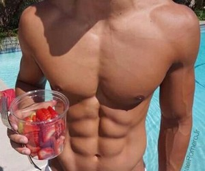 abs, food, and motivation image