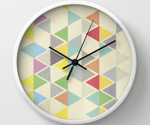 clock, design, and pattern image