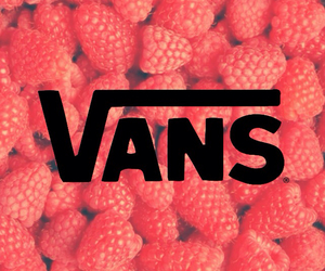 background, red, and vans image