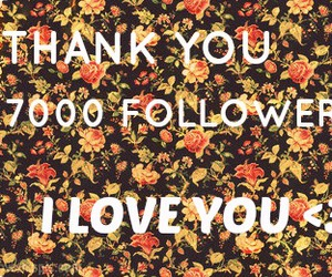 flowers, followers, and I Love You image